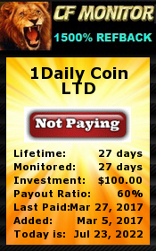 cf-monitor.com - hyip 1daily coin ltd
